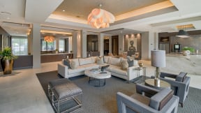 Comfortable Furniture in Clubhouse at Windsor Oak Hill, 78735, TX