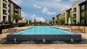 The Infinity-Edge Pool at Windsor Oak Hill, 6701 Rialto Blvd, Austin