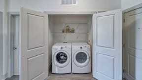 In-Home Washer and Dryer at Windsor Oak Hill, Austin, 78735