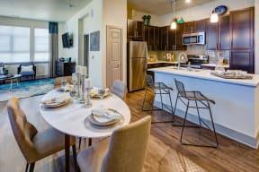 Dining space at Windsor at Pinehurst, 3950 S Wadsworth Blvd, 80235