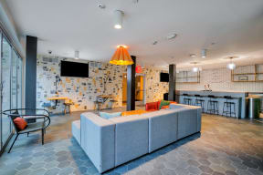 Resident lounge at Dogpatch, San Francisco