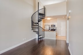 Spiral Staircases up to your own loft