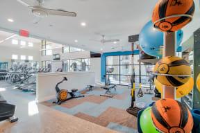 State of the art fitness center at Windsor Ridge Austin