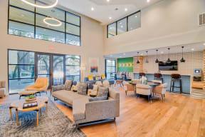 Resident lounge area at Windsor Ridge Austin