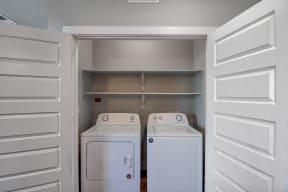 Washer and Dryer at Windsor Ridge Austin
