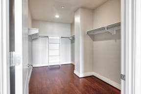 Generous Walk-In Closets With Shelving at The Woodley, Washington, District of Columbia