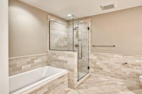 Designer Bathroom Suites at The Woodley, Washington, DC