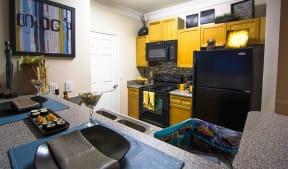 Remodeled Kitchen at Haven North East, Atlanta