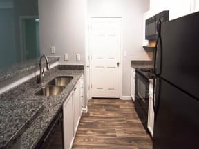 Fully Equipped Kitchen at Haven North East, Atlanta, GA, 30340