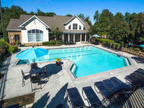 Swimming Pool And Sundeck at Haven North East, Georgia, 30340
