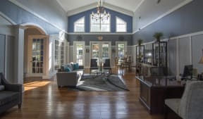 Clubhouse With Expansive Windows at Haven North East, Atlanta