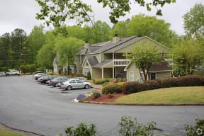 Legacy at Norcross, Norcross Georgia, exterior apartment building with parking lot