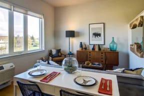 Burnside 26 in Portland, OR model living room
