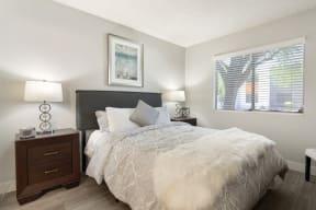 Model primary bedroom
