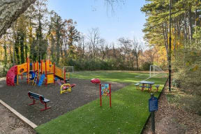 Playground and Soccer Field