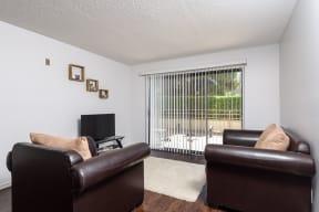 Hawthorne Apartments living room
