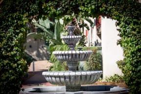 3400 South Main fountain
