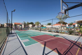 3400 South Main athletic courts