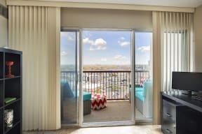 The Edina Towers Apartments in Edina, MN Private Balcony