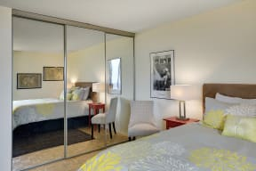 The Edina Towers Apartments in Edina, MN Bedroom