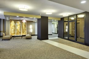 The Edina Towers Apartments in Edina, MN Lobby