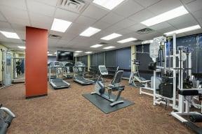 The Edina Towers Apartments in Edina, MN Fitness Center