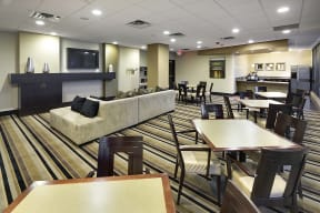 The Edina Towers Apartments in Edina, MN Community Room