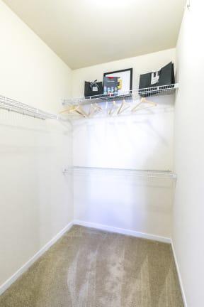 Expansive Closet Space at Aventura at Forest Park, St. Louis,Missouri