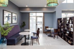 Social Room at The Edison at Spirit, Lakeville, MN, 55044