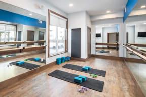 Fitness Center at The Edison at Spirit, Lakeville, MN, 55044