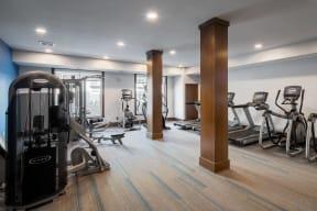 Modern Fitness Center at The Edison Spirit, Lakeville, MN