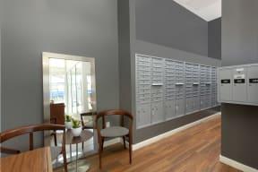 Mailing room