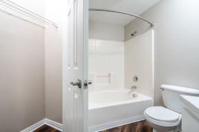 unfurnished bathroom