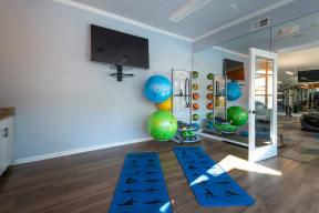 Carrington at Perimeter Park Weight Room