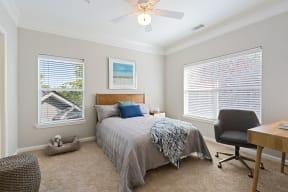 Carrington at Perimeter Park Model Bedroom
