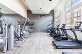 Fitness room Ageno Apartments   Livermore, CA