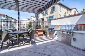 BBQ and picnic area   Ageno Apartments in Livermore, CA