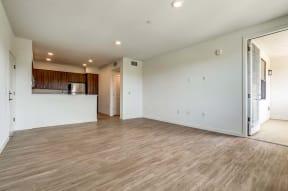 Living and kitchen area   Ageno Apartments in Livermore, CA