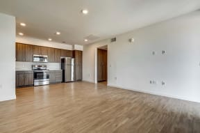 Living and kitchen   Ageno Apartments in Livermore, CA