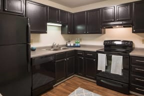 Fully Equipped Kitchen, at The Woods of Burnsville, Burnsville, MN 46204