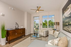 Sarasota views from Living Room