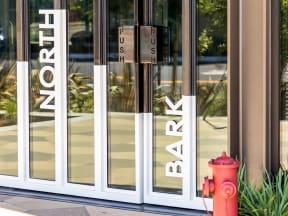 Vida North Park building entrance