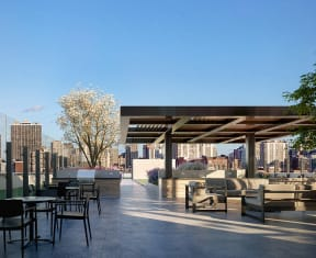 Outdoor Space at North+Vine, Chicago, 60610