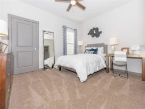 Comfortable Bedroom at One White Oak, Georgia