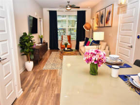 Gorgeous Pointe at Lake CrabTree Living Room in Morrisville, NC Apartments for Rent
