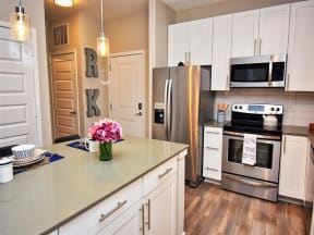 Spacious Pointe at Lake CrabTree Kitchen in Morrisville, NC Apartment Rentals for Rent