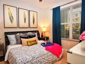 Large Pointe at Lake CrabTree Master Bedrooms at Pointe in North Carolina Rental Homes