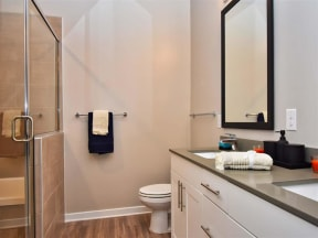 Pointe at Lake CrabTree Bathroom Fitters in North Carolina Apartments