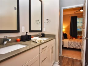 Spacious Pointe at Lake CrabTree Bedrooms With En Suite Bathrooms in Morrisville, NC Apartments