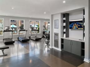 State Of The Art Pointe at Lake CrabTree Fitness Center in Morrisville Rental Homes